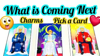 PICK A CARD-CHARMS- WHAT IS COMING NEXT FOR YOU-  LOVE WORK- APKE LIYE NEXT KYA HOGA-- آپ کی شادی