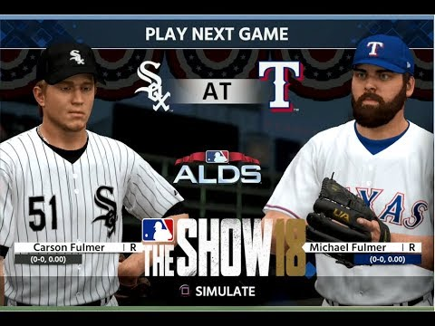 mlb-18-the-show---texas-rangers-franchise-yr-5---alds-gms-1-3-vs-chicago-white-sox