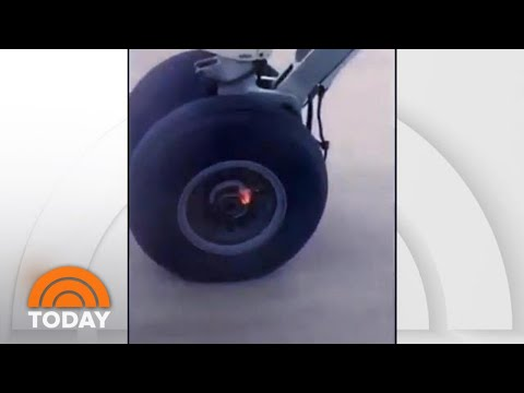 Rachel Lutzker - Plane Loses Wheel Shortly After Takeoff