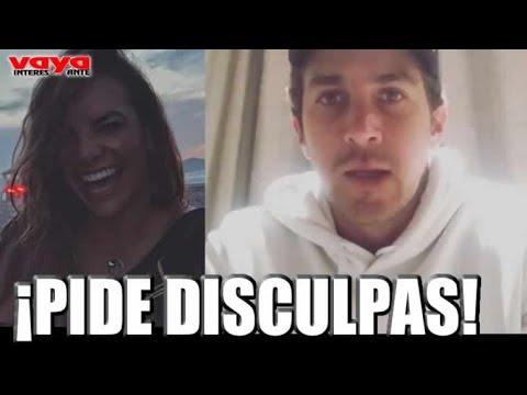 Jonathan Islas se retracta y pide disculpas a Fabiola Campomanes