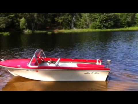ANTIQUE BOAT JET SKI POWERED