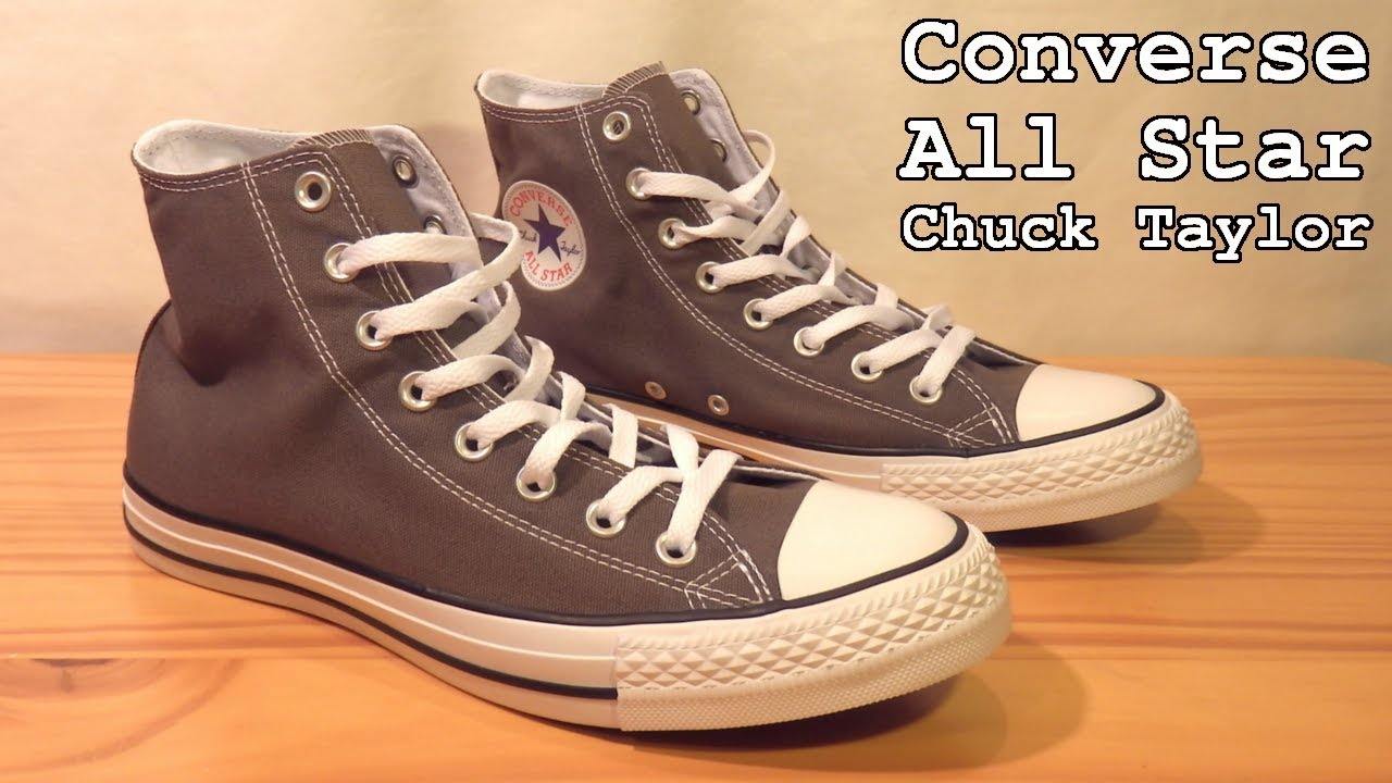 da5190bf76e ... best authentic 8b2d2 d6154 Converse All Star Chuck Taylor • Unboxing  and Overview ...