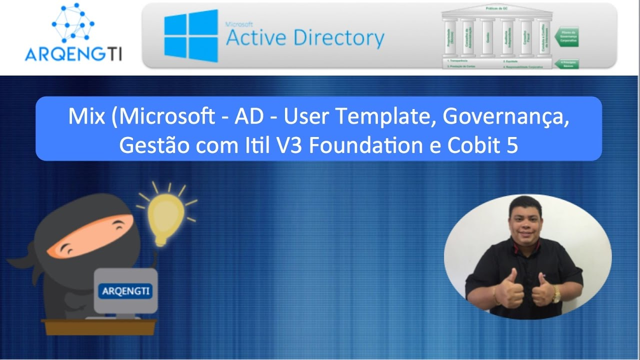 02 Mix Microsoft Governana Gesto Ad User Template Itil