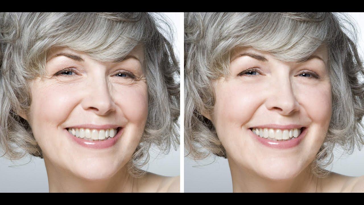 Cómo Quitar Las Arrugas Con Photoshop Youtube
