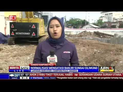 Turap Berhasil Atasi Banjir Kampung Pulo