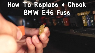 Video BMW Fuse Check/Replace DIY download MP3, 3GP, MP4, WEBM, AVI, FLV Agustus 2018