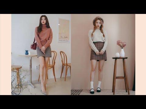 Phối Chân Váy Với Đồ Mùa Đông Đỉnh Cao - Xu Hướng Thời Trang Hot Trend | Style Hàn Quốc