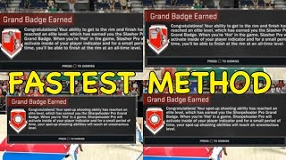 NBA 2K17 GRAND BADGE   How to Get ALL GRAND BADGES FAST for All Archetypes!!