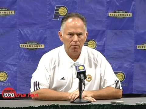 Jim O'Brien Interview - Pacers Media Day