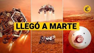 LOS 7 MINUTOS DE TERROR: Perseverance llegó a Marte   Te explicamos cómo lo hizo