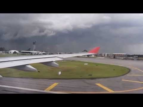 Avianca AV26 Take-off Bogotá heading to Madrid HD 1080p