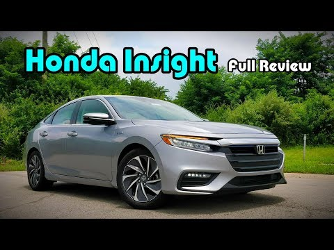 2019 Honda Insight: FULL   DRIVE  GoodLooking Hybrids do Exist!