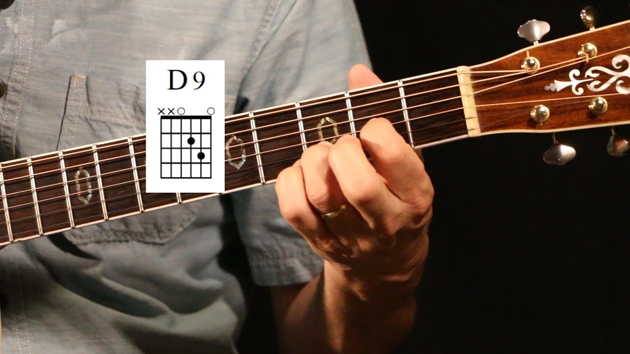 D9 Chord Guitar Lesson Short Version Youtube