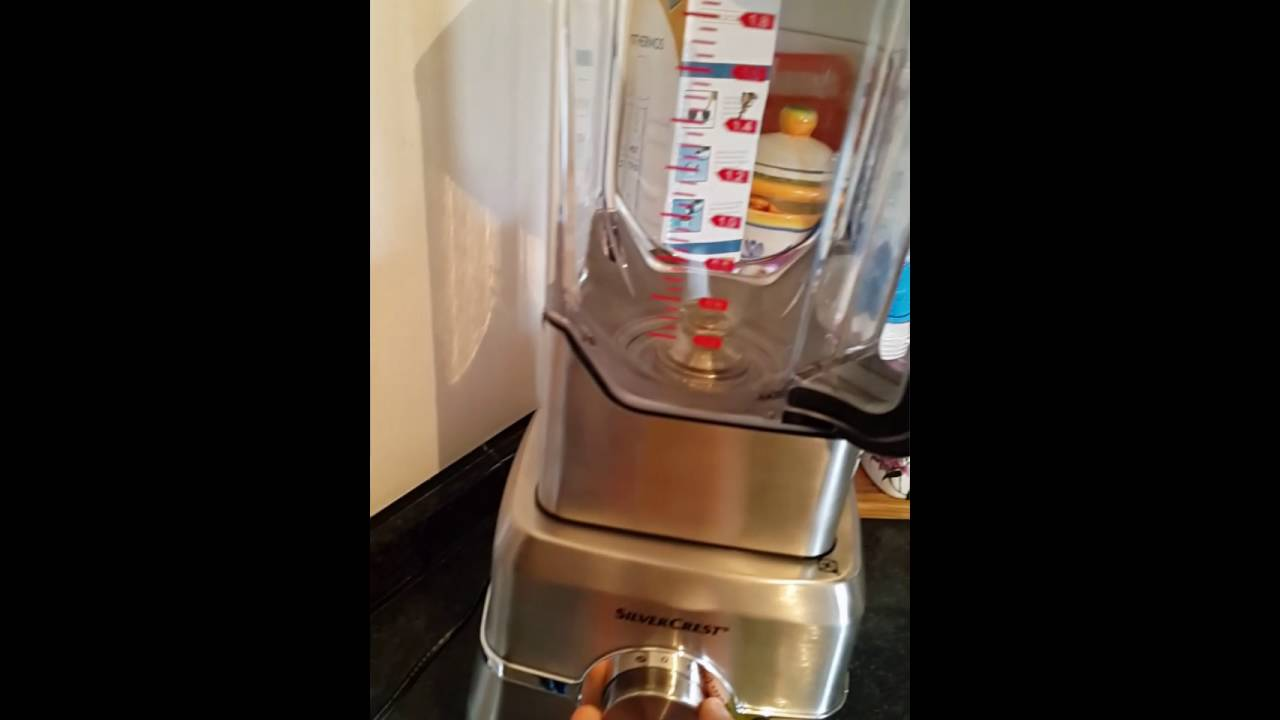 Frullatore silvercrest copia il vitamix youtube for Frullatore silvercrest