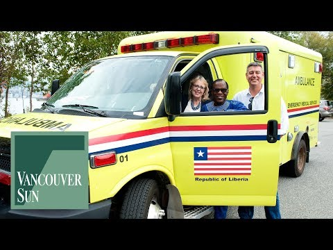 Donated ambulance headed for Liberia | Vancouver Sun