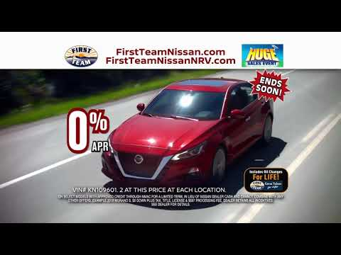 FIRST TEAM NISSAN JUNE HUGE