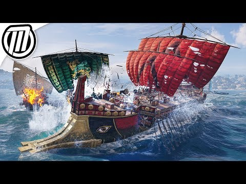 Assassin's Creed Odyssey: Hunting HUGE Spartan Warships! - Open World Gameplay thumbnail