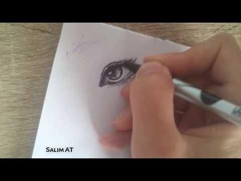 sketching-an-eye-/-simple-way