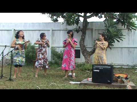 JiaLi's Ukulele Concert in Marshall Islands - ICDF Group