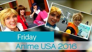 Con Vlog: Anime USA 2016 [ Friday ]