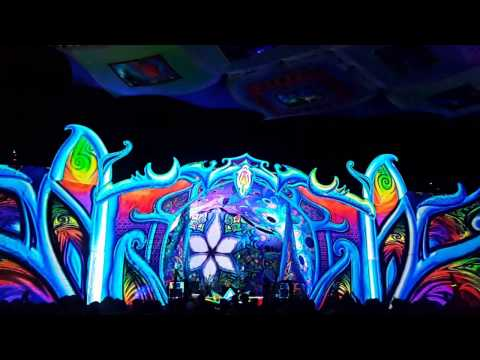 Origin 2017 Festival Cape Town - DJ Headroom - PsyTrance - The Best Stage Ligthing & Visuals