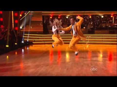 DWTS Benji and Lacey Schwimmer 102012