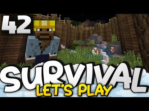 UNDERGROUND CHICKEN COOP!!! - Survival Let's Play Ep. 42 - Minecraft Bedrock (PE W10 XB1)