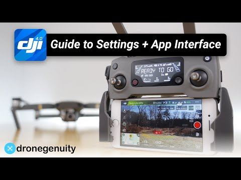 DJI Go 4 App Tutorial! Complete Guide to Settings & App Interface