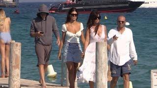 EXCLUSIVE - Ludicrous Leonardo Di Caprio arrives at Club 55 with girlfriend Camila Morrone