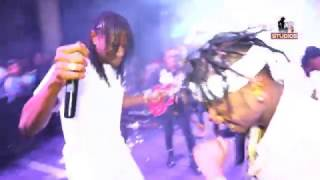 Jah Prayzah and Diamond Platnumz performing Watora Mari