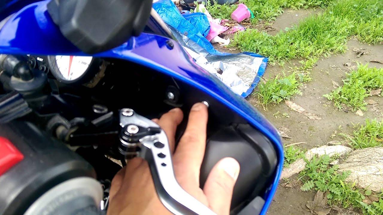 2003 Yamaha r6 fairing aftermarket - YouTube
