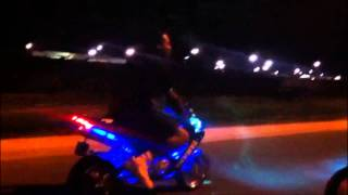 X18 Super Pocket Bike Ride At 2am