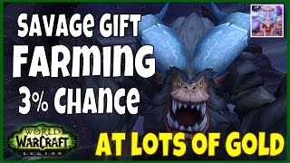 WoW Legion Gold Farming - Savage Gift - Winter Veil Holiday