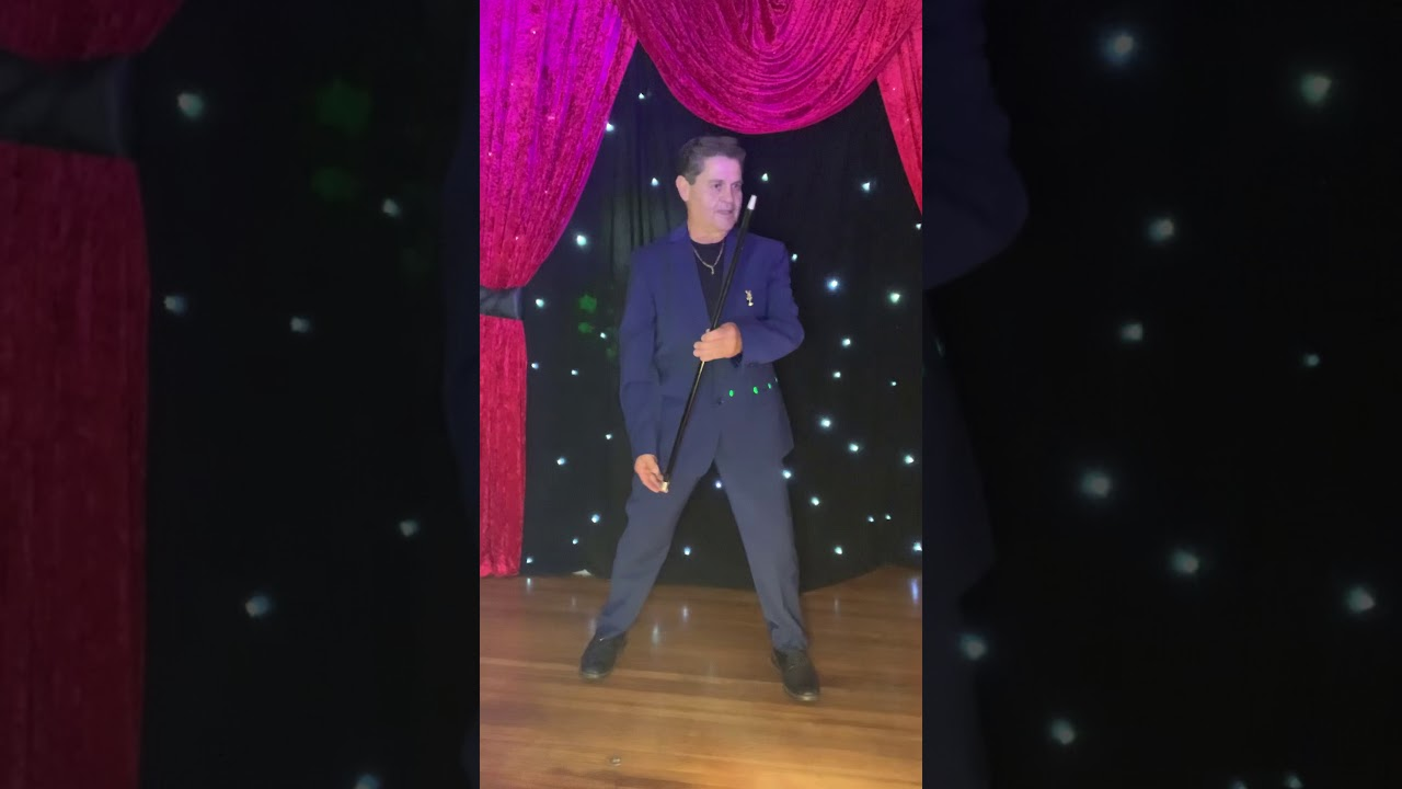Germar Performs Dancing Cane