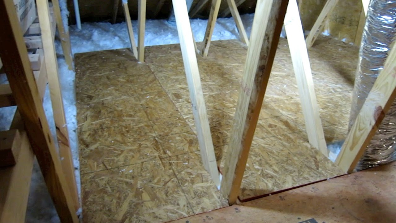 How to create storage space in your attic part 2 easy diy youtube solutioingenieria Images
