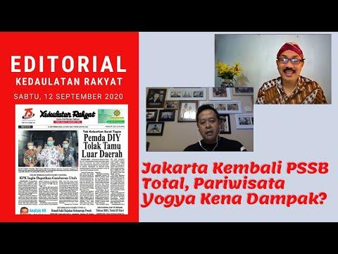 Jakarta Kembali PSSB Total, Pariwisata Yogya Kena Dampak?