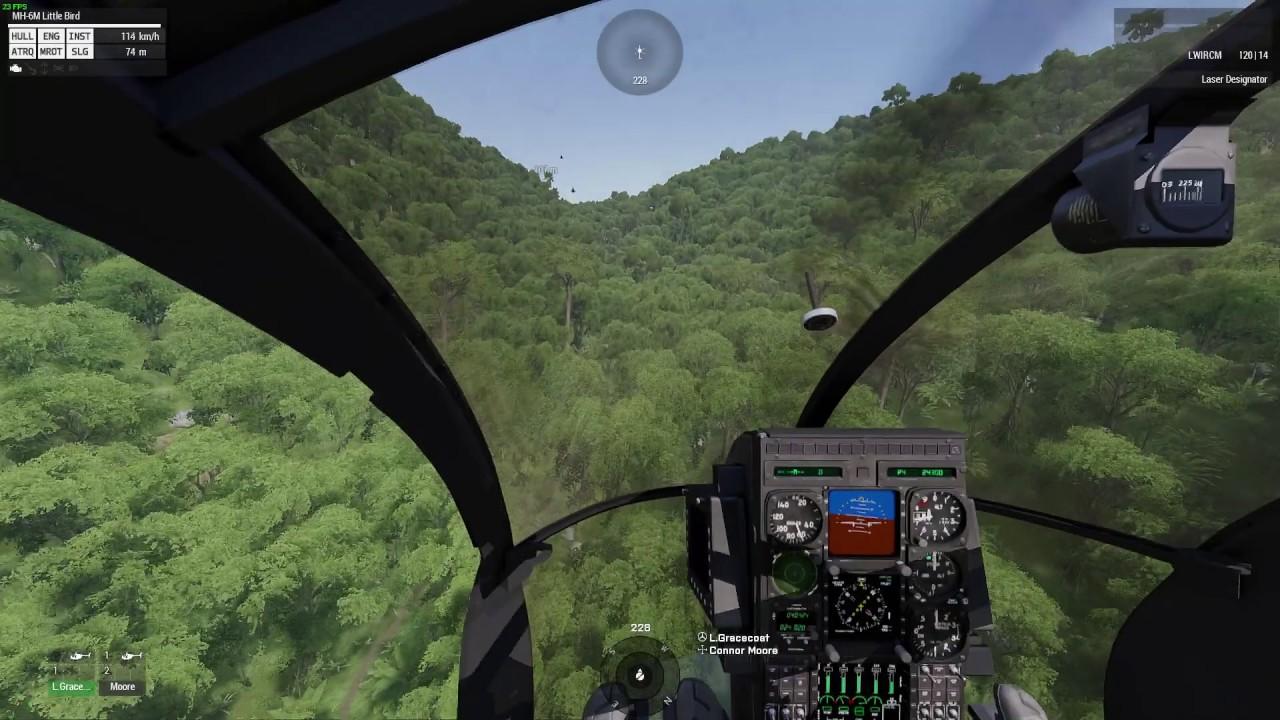 Arma 3 NoE Flight Nightvison TrackIR 5 - YouTube