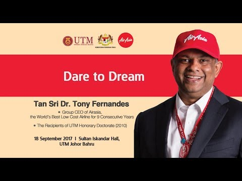 Premier Lecture_Dare to Dream_Tan Sri Dr. Tony Fernandes