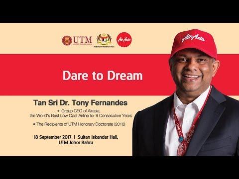 Premier Lecture_Dare to Dream_Tan Sri Dr. Tony Fernandes