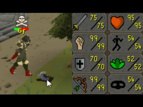 PKing ABSOLUTE BANK on This OP Med LVL Account!