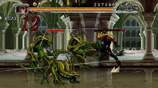 Guilty Gear Judgment Gameplay Story Mode Area 1 (PSP)
