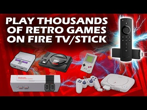 Play Thousands of Retro Games on Firestick / Fire TV with
