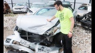 سيارتي بعد الحادث لقيتها هنا!! #المرحومة_سارونة#اللقاء_الاخير
