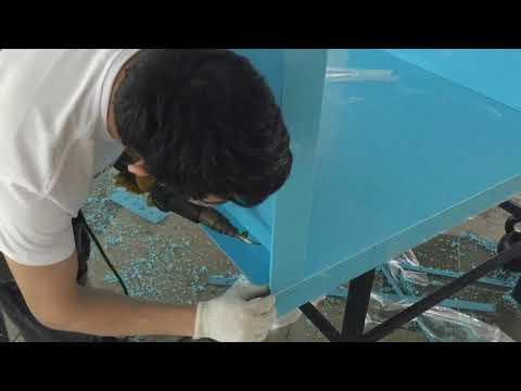 Изготовление бассейнов из полипропилена своими руками видео