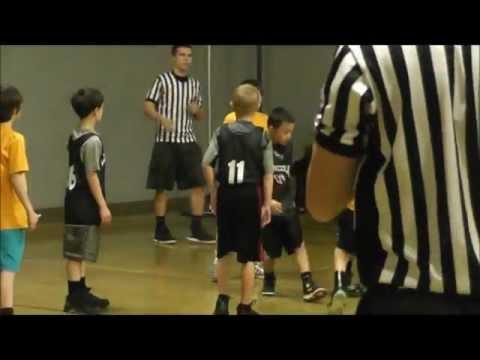 Jordan Mesa BridleMile Elementary School 3rd grade game 8 Highlights Feb 23 2013.wmv