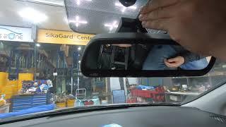 현대자동차 LF 쏘나타 기존 하이패스룸미러 요금정산불량…