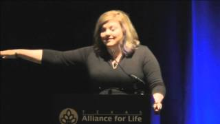 Abby Johnson's Compelling Pro-Life Speech