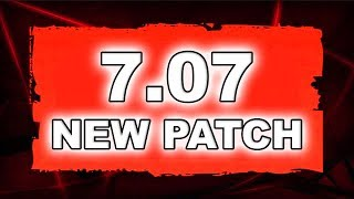 Dota 2 NEW 7.07 PATCH - Main Changes!