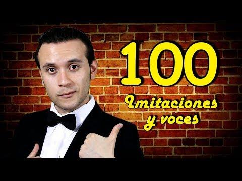 100 imitaciones y voces // Geezuz González