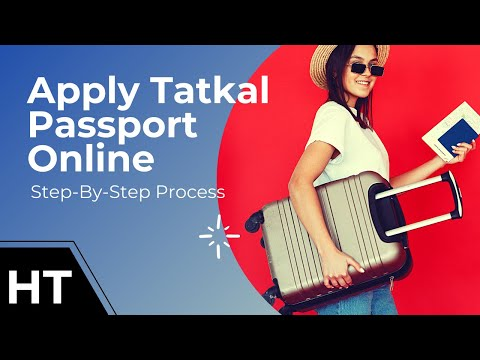 How to apply for tatkal passport online in india